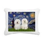 MP-STARRY-Bolognese PAIR Rectangular Canvas Pi