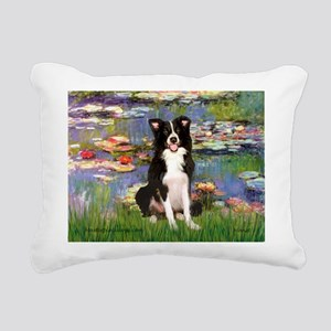 TILE-Lililes2-BordC1 Rectangular Canvas Pillow