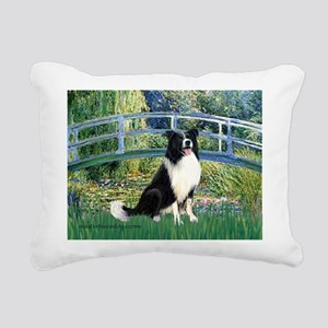 TILE-Bridge-M-BordC1 Rectangular Canvas Pillow