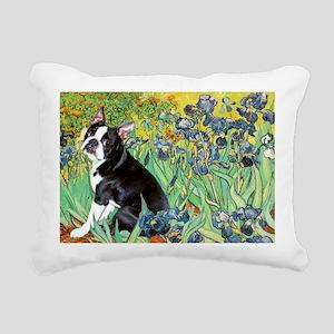5.5x7.5-Irises-Boston4 Rectangular Canvas Pill