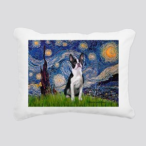 STARRY-Boston2 Rectangular Canvas Pillow