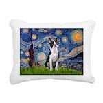 STARRY-Boston2 Rectangular Canvas Pillow