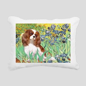 3-MP-IRISES-Cav2B Rectangular Canvas Pillow