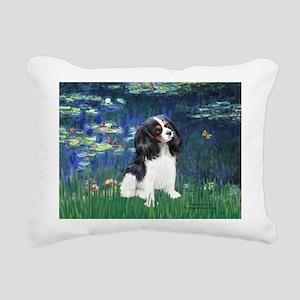 3-LILIES1-Cav-Tri6 Rectangular Canvas Pillow