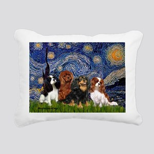 Starry-CavalierQUAD Rectangular Canvas Pillow