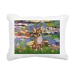 5x7-Lilies2-CHIH2 Rectangular Canvas Pillow