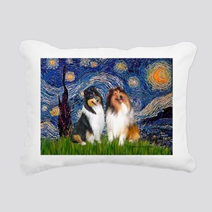 MP-STARRY - Collie PAIR Rectangular Canvas Pil