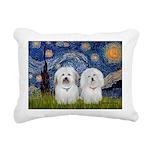MP-Starry-CotonPAIR Rectangular Canvas Pillow