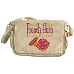 Will Play French Horn Messenger Bag