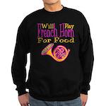 Will Play French Horn Sweatshirt (dark)