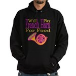 Will Play French Horn Hoodie (dark)