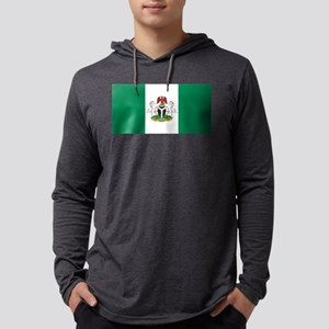 Nigeria - State Flag - Current Mens Hooded Shirt