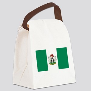 Nigeria - State Flag - Current Canvas Lunch Bag