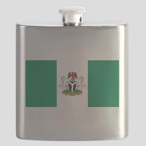Nigeria - State Flag - Current Flask