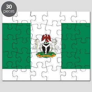 Nigeria - State Flag - Current Puzzle