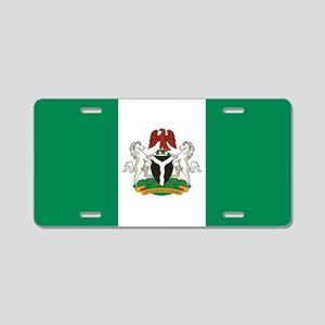 Nigeria - State Flag - Current Aluminum License Pl