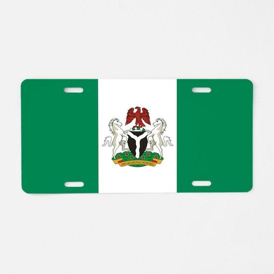 Nigeria - State Flag - Current Aluminum License Pl