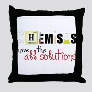 All The Solutions Throw Pillow