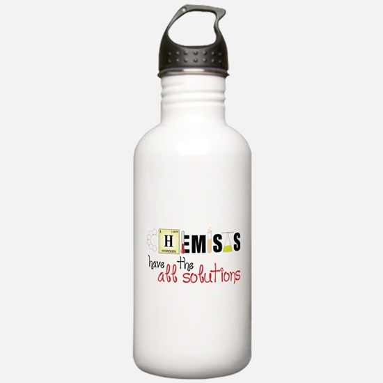 All The Solutions Water Bottle