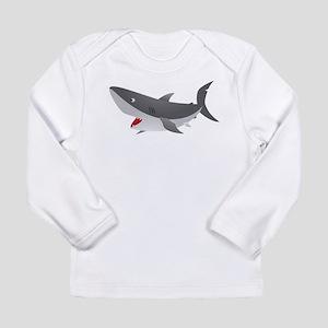Shark Attack Shirt for Kids Long Sleeve Infant T-S