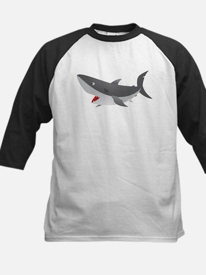 Shark Attack Shirt for Kids Kids Baseball Jersey
