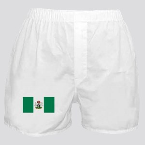 Nigeria - State Flag - Current Boxer Shorts