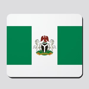 Nigeria - State Flag - Current Mousepad