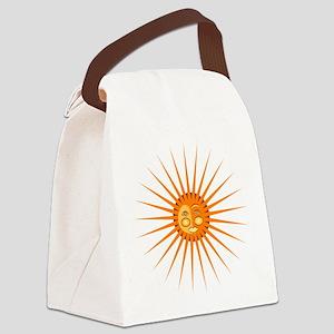 Shining Sun Canvas Lunch Bag