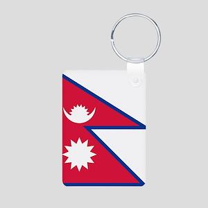 Nepal - National Flag - Current Aluminum Photo Key
