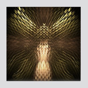 Tile Coaster - Golden Angel