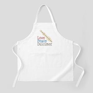 Love Peace Dulcimer Apron