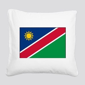 Namibia - National Flag - Current Square Canvas Pi