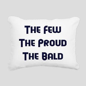 The Bald Rectangular Canvas Pillow