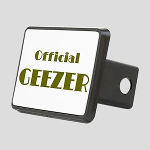 Official Geezer Rectangular Hitch Cover