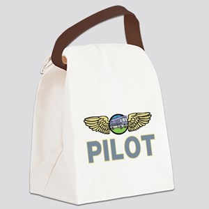 RV Pilot Canvas Lunch Bag