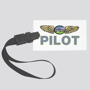 RV Pilot Large Luggage Tag