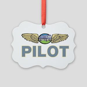RV Pilot Picture Ornament