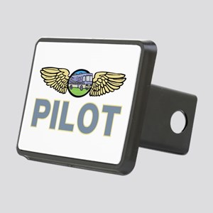 RV Pilot Rectangular Hitch Cover