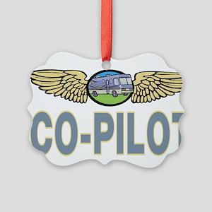 RV Co-Pilot Picture Ornament