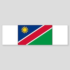Namibia - National Flag - Current Sticker (Bumper)
