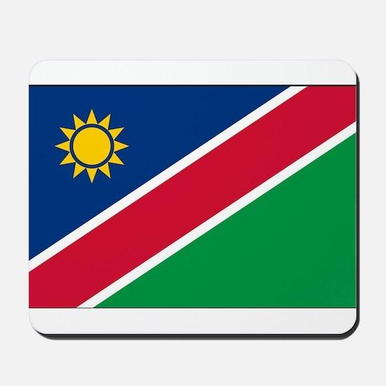 Namibia - National Flag - Current Mousepad