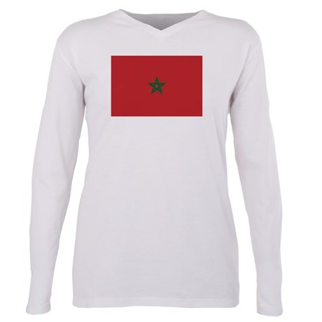 Morocco - National Flag - Current Plus Size Long S