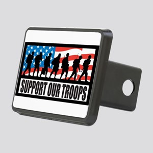 Support our troops - Infantry Rectangular Hitch Co