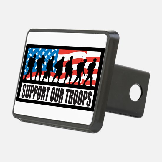 Support our troops - Infantry Hitch Cover