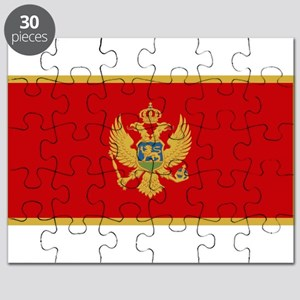 Montenegro - National Flag - Current Puzzle