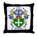 Crumbie Coat of Arms Throw Pillow