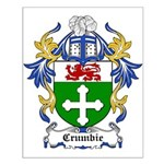 Crumbie Coat of Arms Small Poster