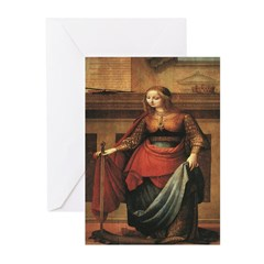 St. Catherine Greeting Cards (Pk of 10)