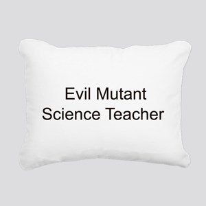 Evil Mutant Science Teacher Rectangular Canvas Pil