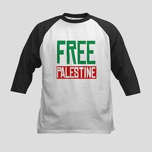 Free Palestine ????? ?????? Kids Baseball Jersey